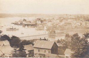 RP; BOOTHBAY HARBOR , Maine , 1916 ; Bird's Eye View #4