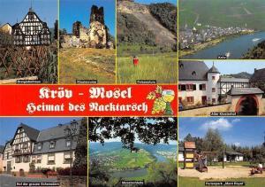 Kroev Mosel Klosterruine, Felsensturz, Moselschleife, Ferienpark Mont Royal