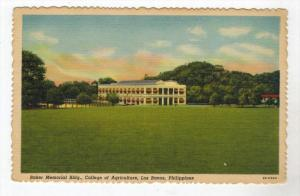 164   Phillipines Manila   COLLEGE OF AGRICULTURE   Baker Memorial Bldg
