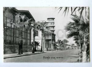191927 USA Fl Palm Beach Kings way avenue Vintage postcard