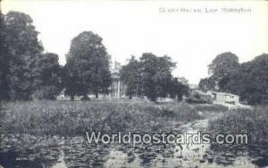 England, United Kingdon of Great Britain Nottingham Colwick Hall & Lake