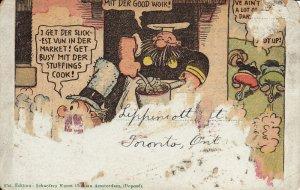 ROTTERDAM, Schiekade, (Comic on the back) South Holland, Netherlands,  00-10s