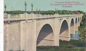Connecticut Boulevard Bridge Washington D C Largest Concrete Bridge In The World