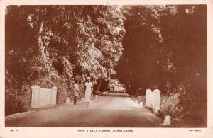 Lumley Sierra Leone Africa High Street Real Photo Antique Postcard J80145