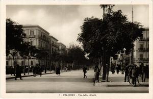CPA PALERMO Via della Liberta . ITALY (468913)