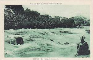 Belgian Congo Rungu Un rapide du Bomokandi