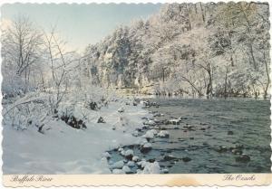 Buffalo River, The Ozarks, Arkansas, unused Postcard