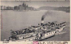 BUDAPEST , Hungary , 1936 ; Ferry Boat