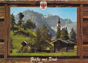 Austria Gruesse Aus Tirol Obernberg