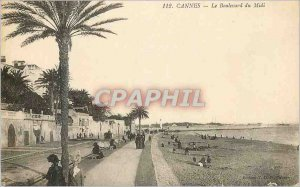 Postcard Old Cannes Boulevard du Midi