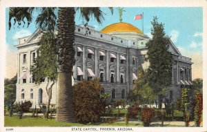 State Capitol, Phoenix, Arizona, Early Postcard, Unused