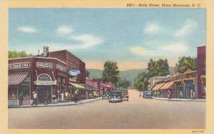 North Carolina Black Mountain Main Street Drug Store