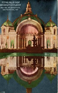 CA - San Francisco. Panama-Pacific Int'l Exposition, 1915. Festival Hall by N...
