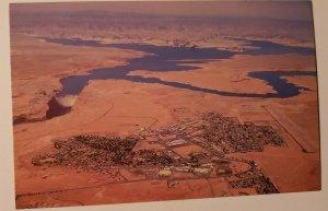 Vintage Postcard Page Arizona Glen Canyon Dam Lake Powell 1985   319