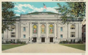 GREENVILLE, Ohio, 1910-30s; St. Clair Memorial Hall