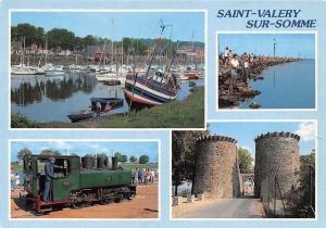 France Saint Valery sur Somme, Le Port Le Cap Hornu, Le Petit Train, Harbour