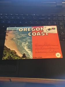 Vintage Picture Postcard Book: 70s Greetings from the Oregon Coast 13 Views