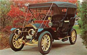 1910 Knox Automobile antique car Grove St. Sandwich Massachusetts MA Postcard