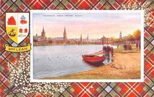 Scotland, UK Old Vintage Antique Post Card Inverness from Friars' Shott ...