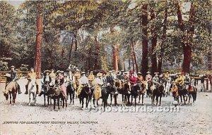 Starting for Glacier Point - Yosemite Valley, CA