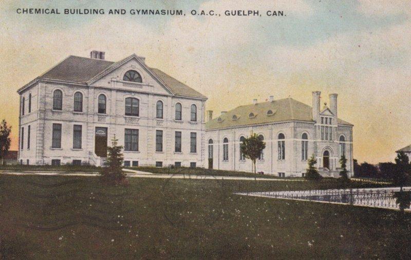 GUELPH , Ontario , Canada , 00-10s ; Chemical Building & Gymn , O.A.C.