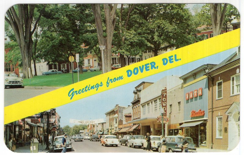 Greetings from Dover, Del.