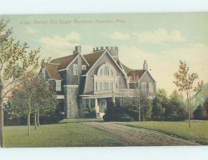 Unused Divided-Back HISTORIC HOME Hopedale - Near Milford Massachusetts MA W4334