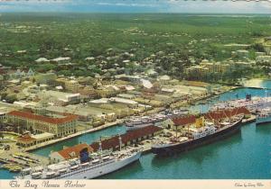 Bahamas Nassau Busy Harbour Scene