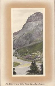 FIELD, Canadian Rockies, British Columbia, Canada; Mt. Stephen nad Hotel, 00-10s