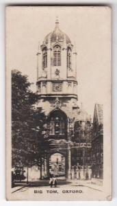 Cigarette Card  Westminster : British Royal & Ancient Buildings No. 25 Oxford