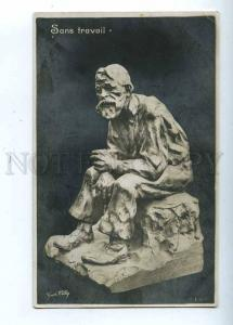 202986 Unemployed Old Man by PILLIG Vintage postcard
