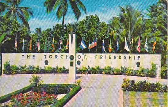 The Torch Of Friendship Miami Florida