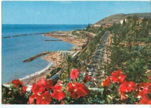 Italy, Sanremo, San Remo, Riviera dei Fiori, Corso Imperatrice, unused Postcard