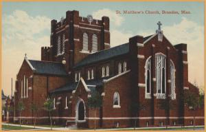 Brandon, Manitoba - St. Matthew's Church -