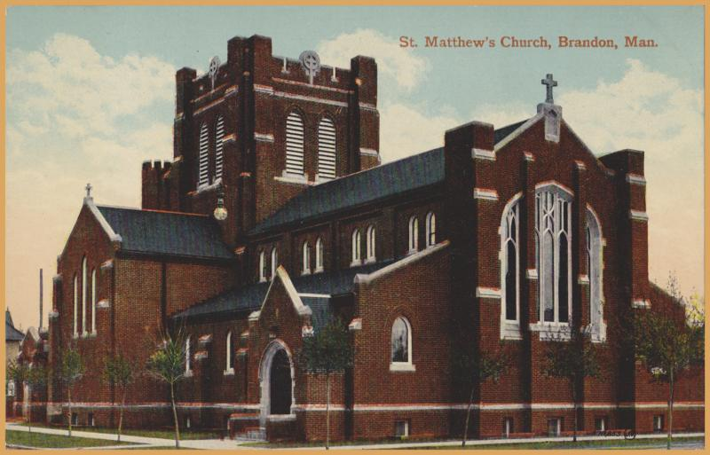 Brandon, Manitoba - St. Matthew's Church -