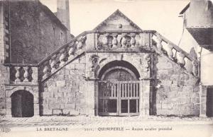 Ancien Escalier Presidial, Quimperle (Finistere), France, 1900-1910s