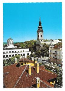 Serbia Belgrade Cathedral Orthodox Patriarchate Postcard 4X6