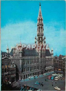 Postcard Modern Brussels Grand Place City Hall