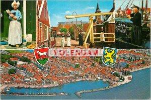 Postcard Modern Volendam Holland