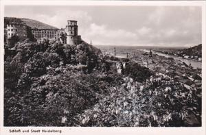 Germany Heidelberg Schloss und Stadt Photo