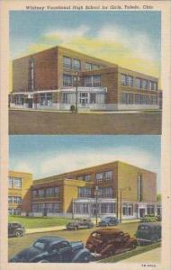 Ohio Toledo Whitney Vocational High School For Girls Albertype