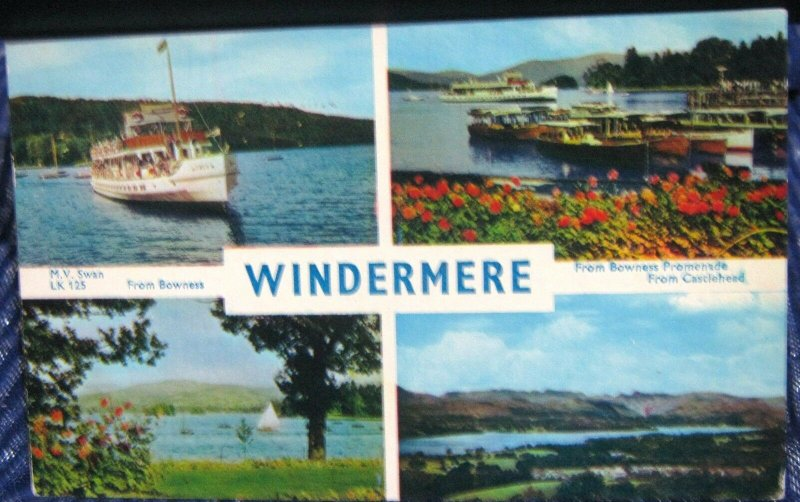 England Windermere Multi-view - posted 1960