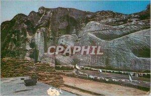 Postcard Modern Sri Lanka Buddha Layer Polonnaruwa