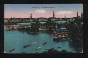 059151 GERMANY Hamburg Lombardsbrucke  Vintage PC
