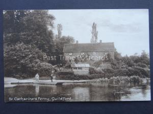 Surrey GUILDFORD St Catherine's Ferry - Old Postcard by Pelham Series 4579