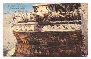 Baalbel - La corniche du Temple de Jupiter, Lebanon , 00-10s