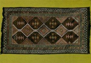 PC CPA SAUDI ARABIA, CARPET FROM AL-JOWF, Modern Postcard (b15913)