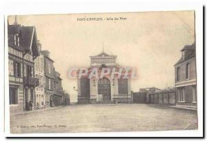 Pont L & # 39eveque Old Postcard Hall of celebrations