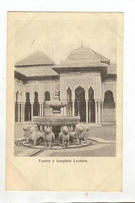 Fuente y Templete Levante, Spain, 1900-1910s