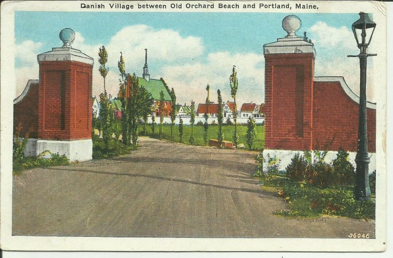 Danish Village between Old Orchard Beach and Portland, Maine